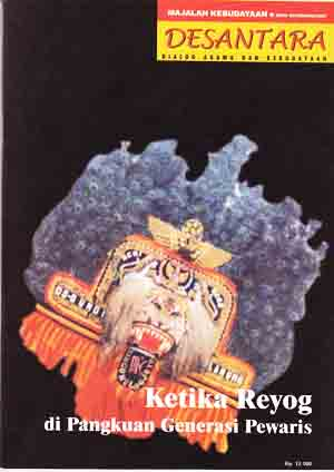 Majalah Desantara Edisi 05/Tahun II/2002 : Ketika Reyog di Pangkuan Generasi Pewaris